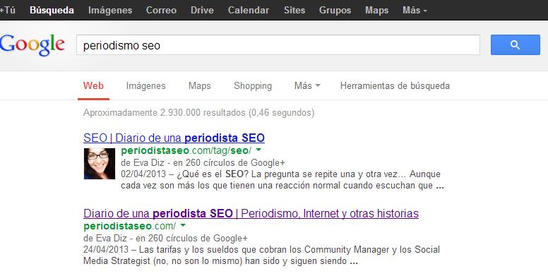 SEO Authorship Google